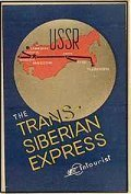 """Logo de la Liaison ferroviairen du """"Transibérien express"""""""