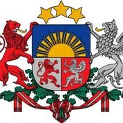 Armoiries de la Lettonie
