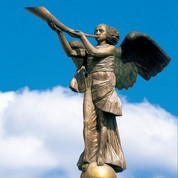 Angel of Uzupis (from LithuanianTravel.com)